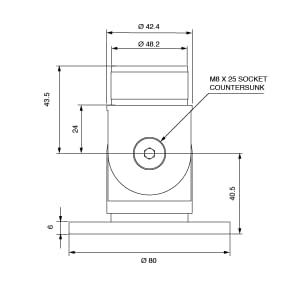Technical Spec for Adjustable Wall Flange