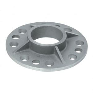Stainless Steel Base Plate for Ø 42.4mm Post
