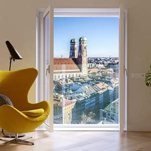 Easy Glass View Frameless Juliet Balcony