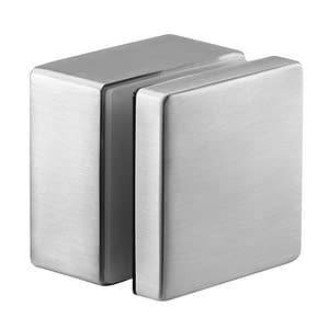 Grade 316 Square Stainless Steel Glass Standoff Button