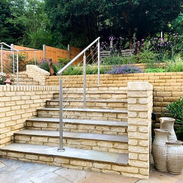 Stainless Steel Wire Rope Balustrade System in Milton Keynes