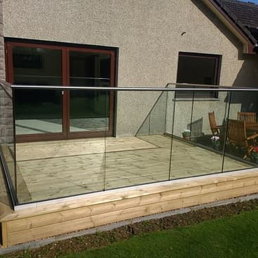 Frameless Aluminium Smart Channel System with Stainless Steel Handrail
