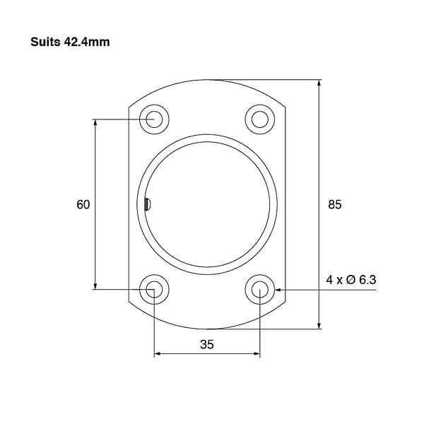 SquareEdge-Wall-Flange-42mm-Spec-01