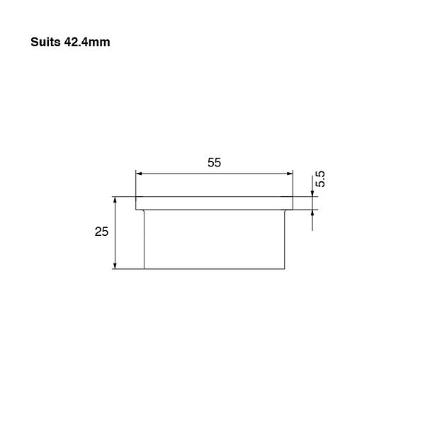 SquareEdge-Wall-Flange-42mm-Spec-02