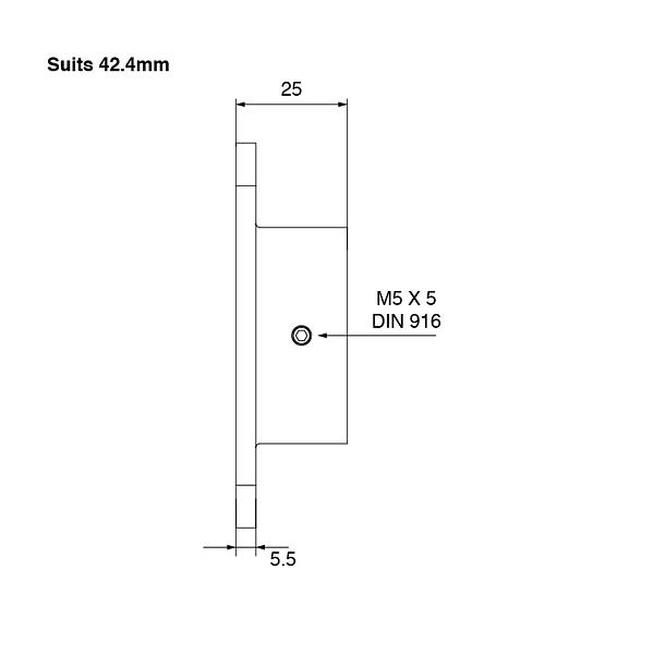 SquareEdge-Wall-Flange-42mm-Spec-03