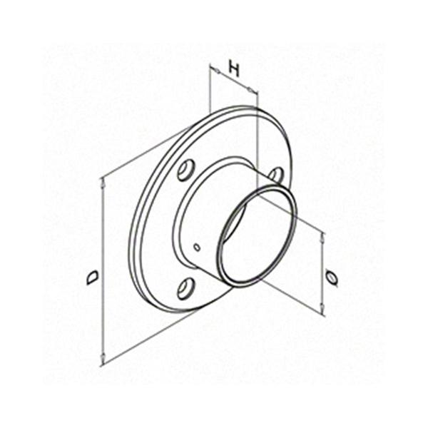 Wall-Flange-424mm-Spec