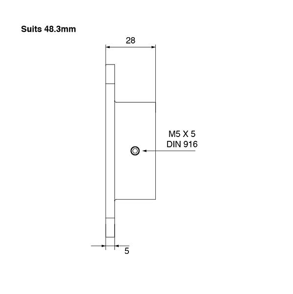 SquareEdge-Wall-Flange-48mm-Spec-03